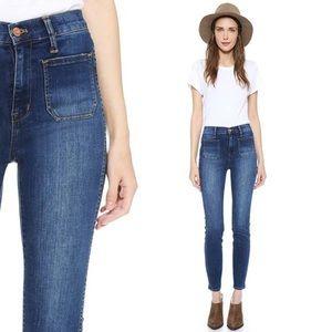 "Madewell 10"" High Riser Sailor Skinny Jeans"
